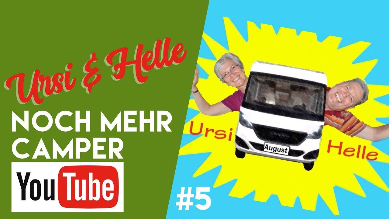 Ursi und Helle bei noch mehr Camper-Youtube bei fan4van
