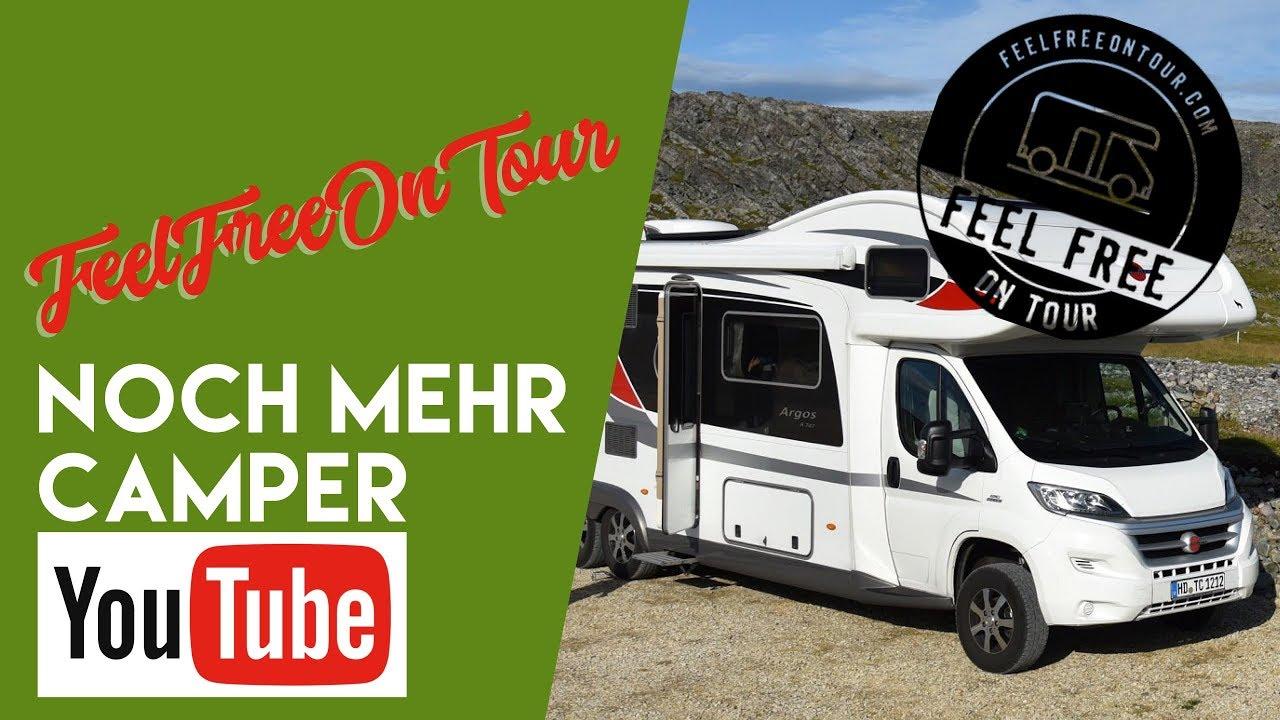 Feel free on tour bei noch mehr Camper-Youtube bei fan4van