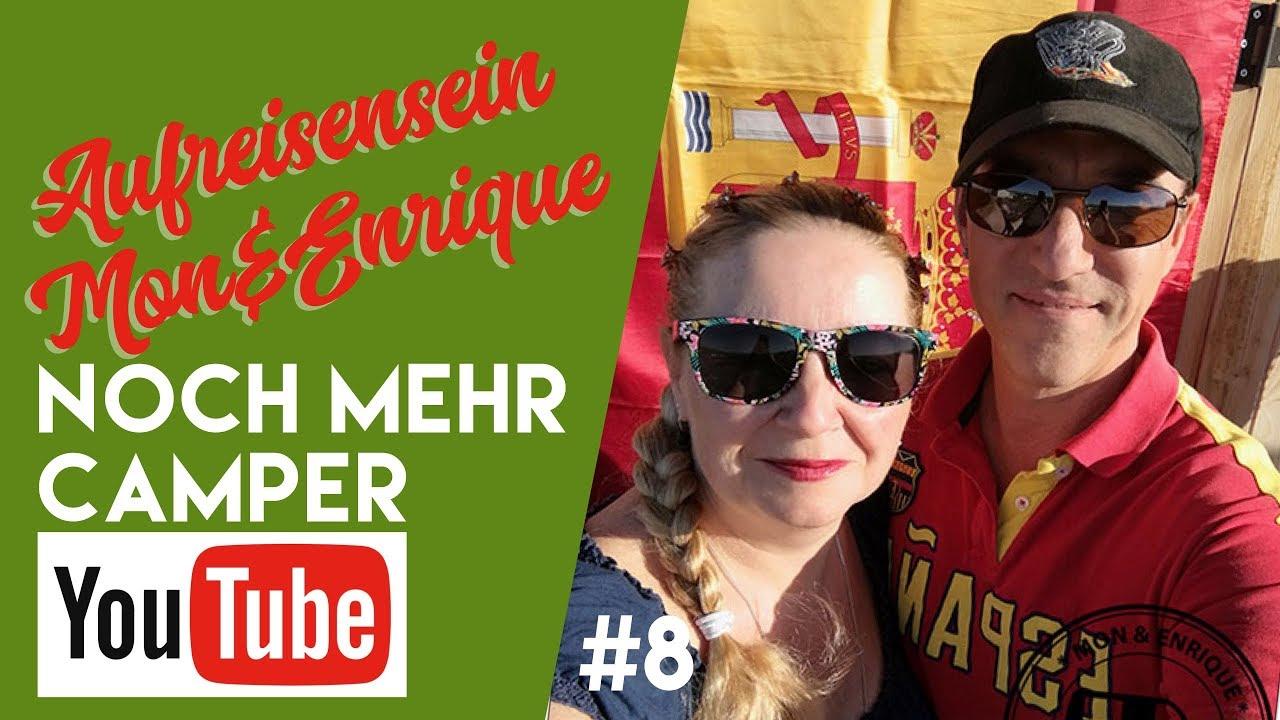 Mon und Enrique von aufreisensein bei noch mehr Camper-Youtube bei fan4van