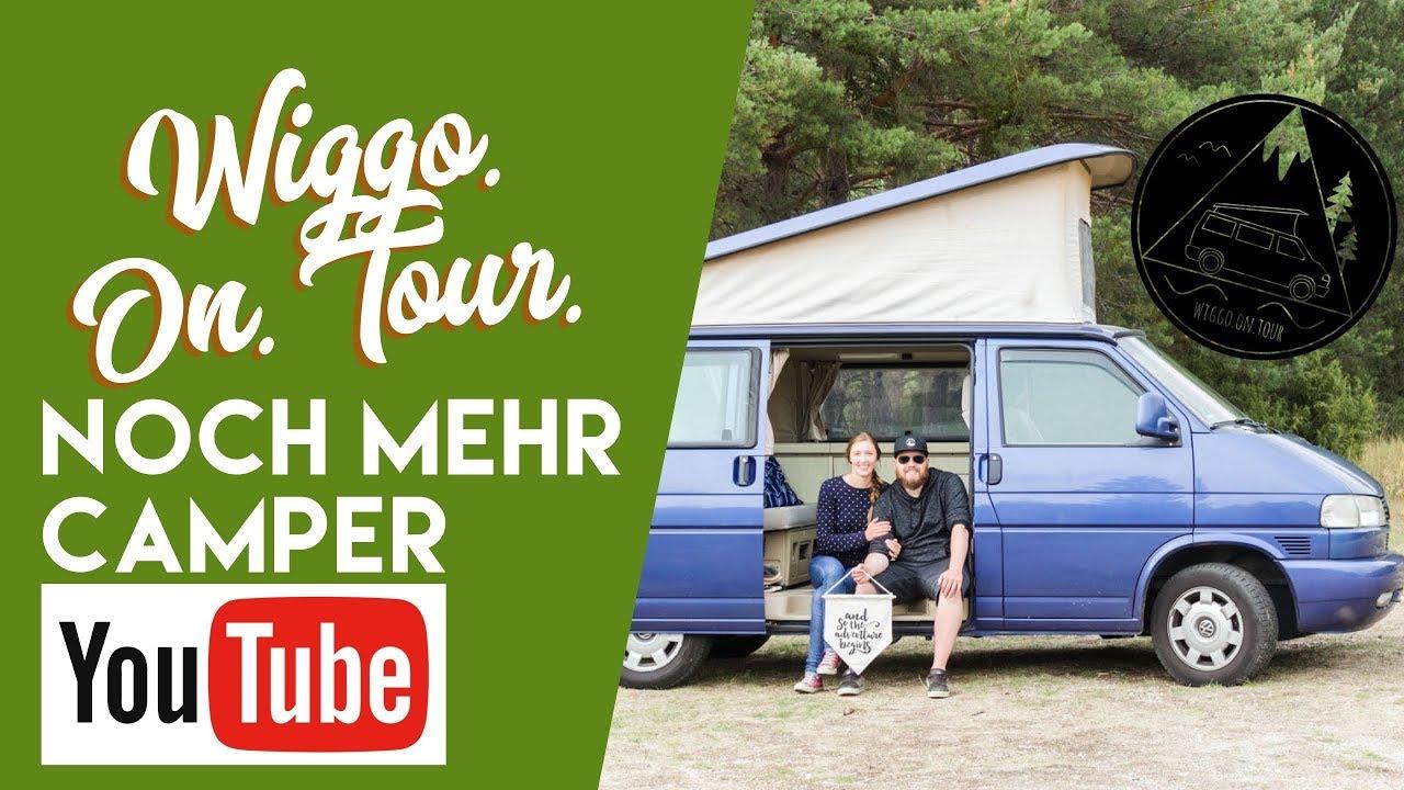 Wiggo on tour bei noch mehr Camper-Youtube bei fan4van