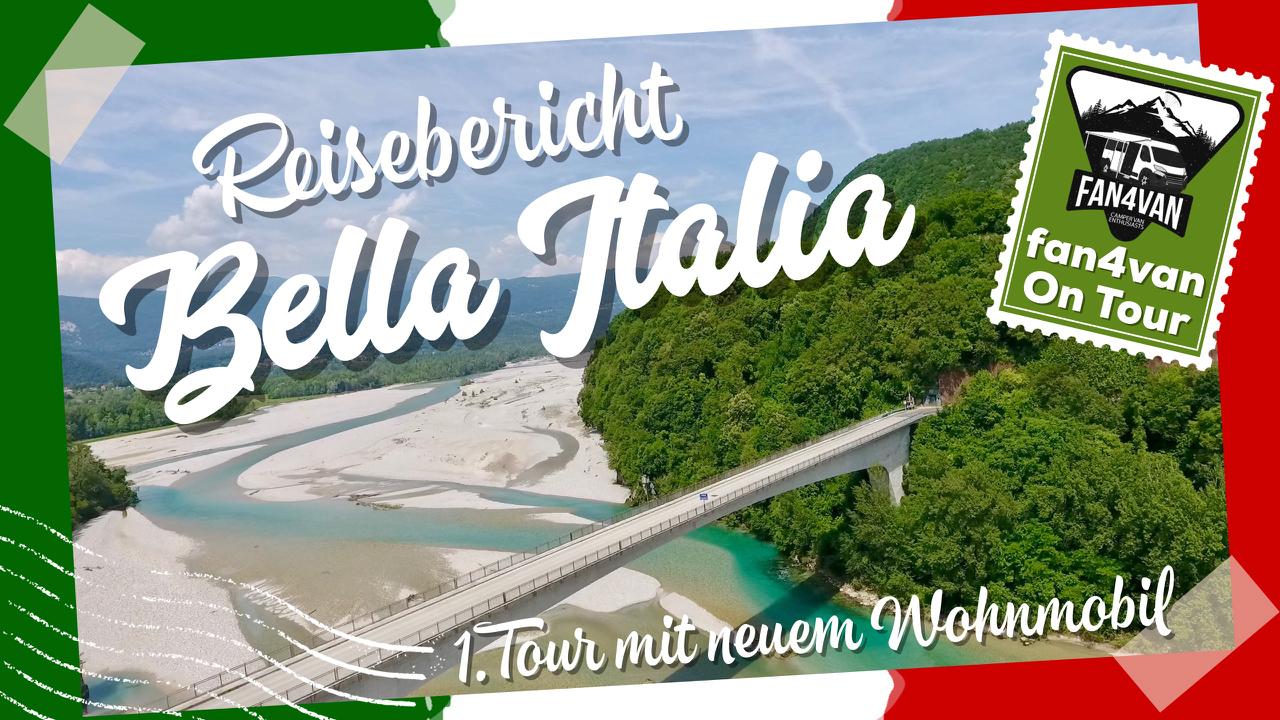 Mit damneuen Wohnmobil auf Tour - es geht nach Italien zum Gleitschirmfliegen