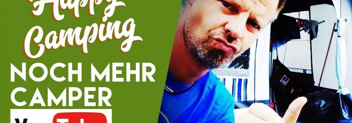 Happy Camping Stefan bei noch mehr Camper-Youtube bei fan4van