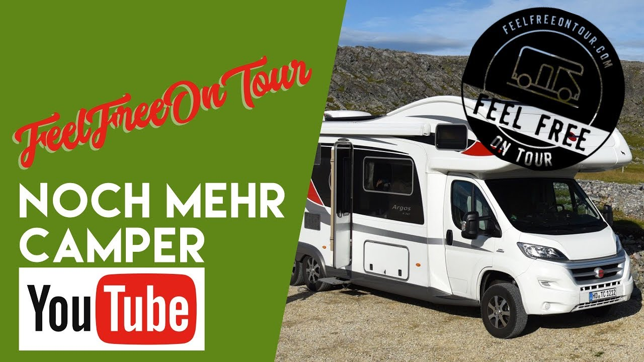 Feel free on tour bei noch mehr Camper-Youtube bei fan4van