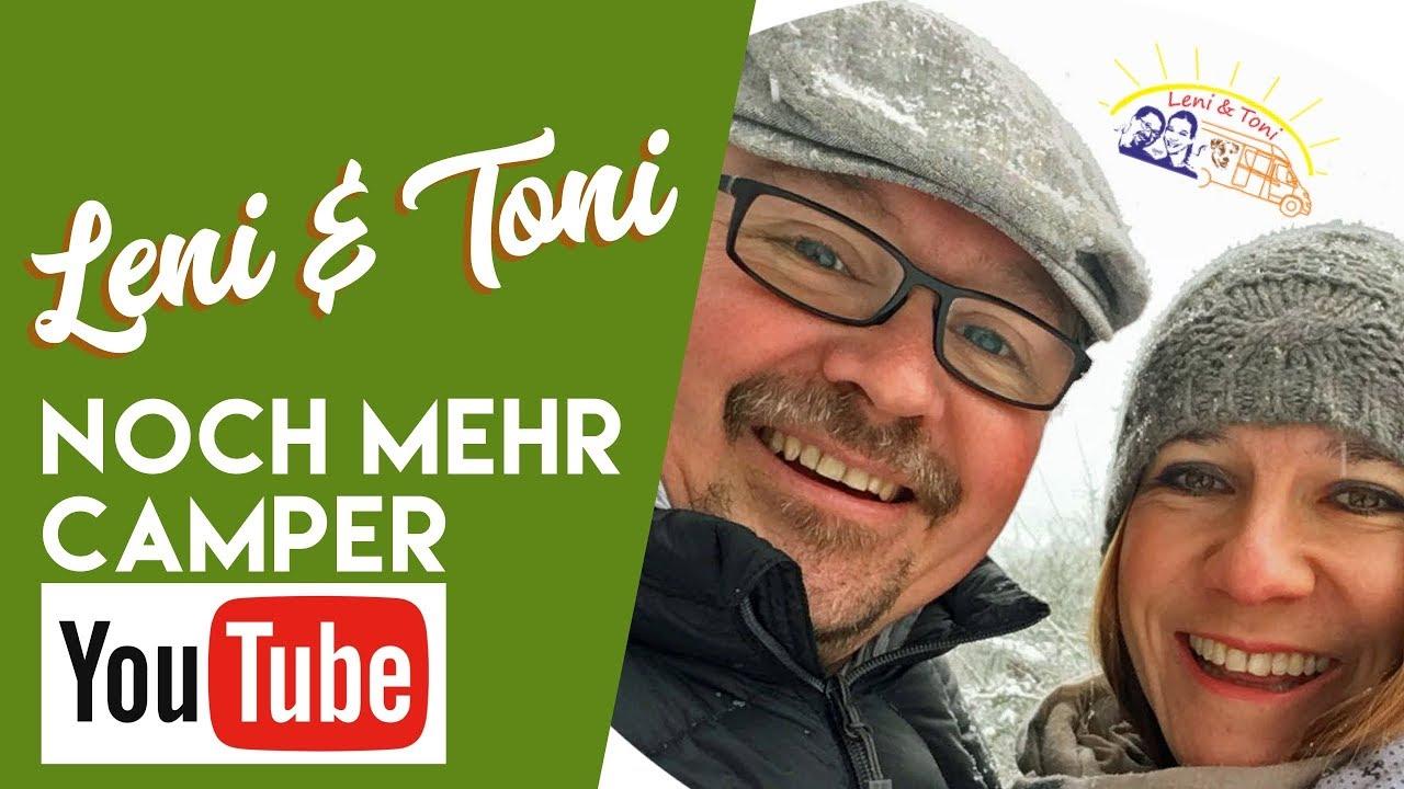 Leni und Toni bei noch mehr Camper-Youtube bei fan4van