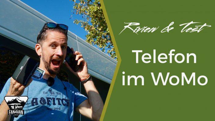 ein Telefonat im WoMo führen, hier der Test mit welchen Lösungen das am besten klappt!