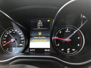 Wegen schlechter Batterie funktioniert die Dieselheizung im Marco Polo nur selten