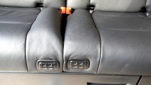 Tolle Rücksitzbank in der Marco Polo V-Klasse