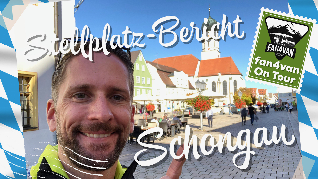 Schongau bietet einen netten Wohnmobil Stellplatz