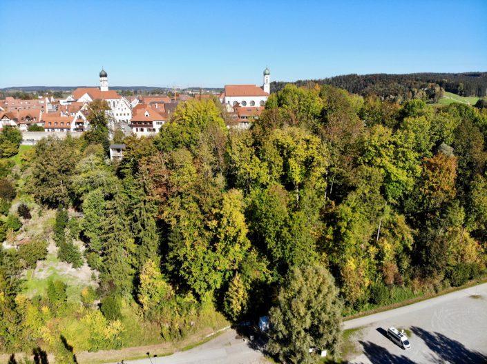 Der Stellplatz für Wohnmobile in Schongau