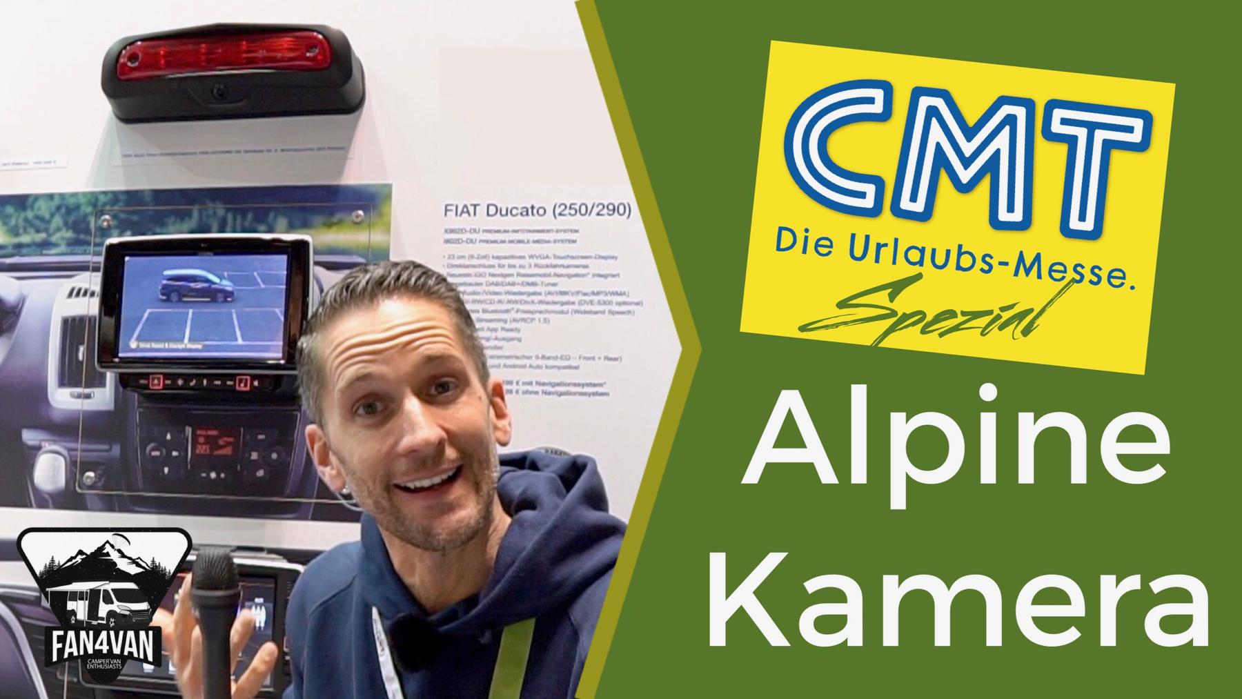 Rückfahrkamera von Alpine für Reisemobile