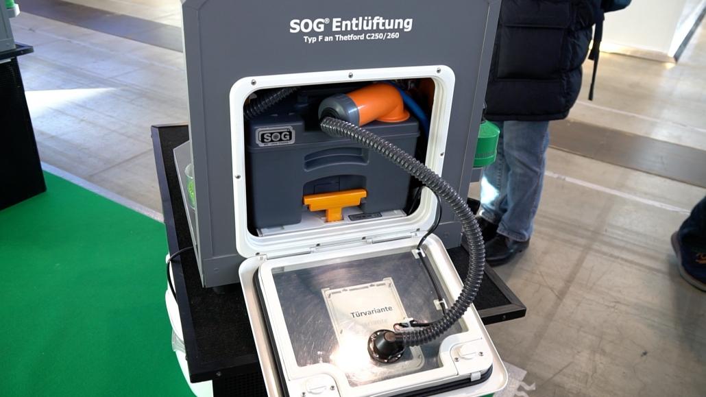 Fabulous SOG - System: Wohnmobil Toilette wirklich ohne Chemie? SQ15