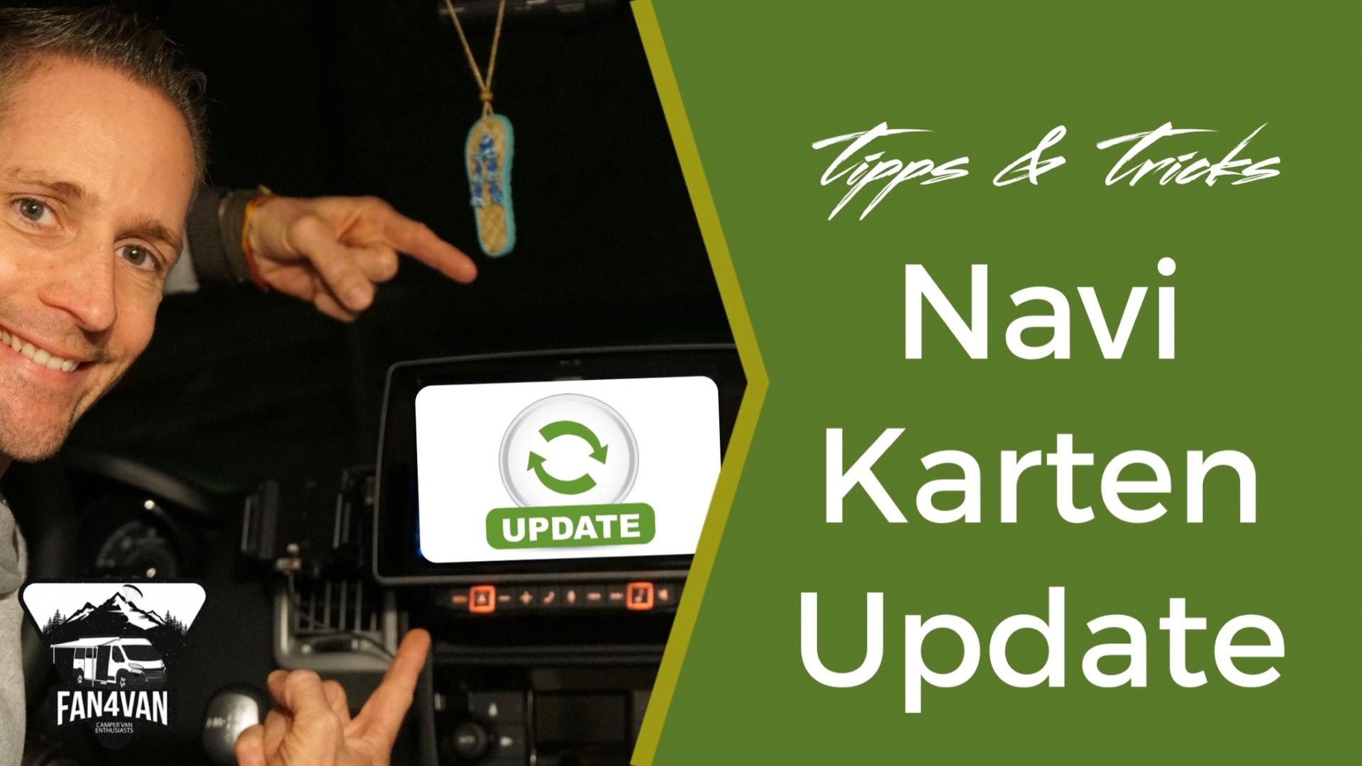 Karten aktualisieren bei Navigationssystem