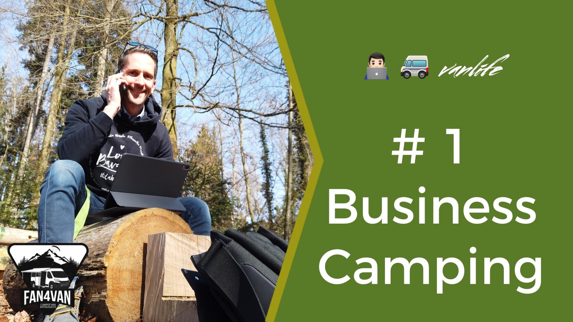 Business Camping - so macht Arbeiten im Reisemobil Spaß