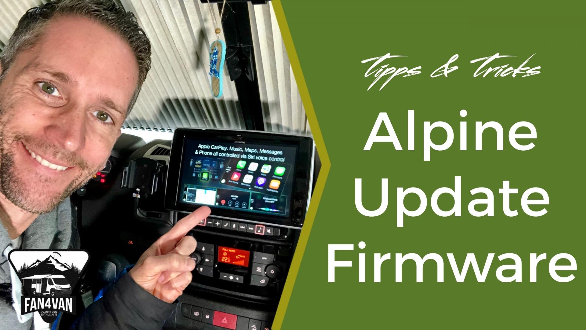 Alpine Software Update und Aktualisierung