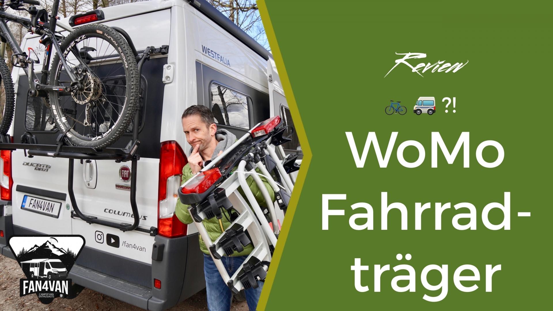Wohnmobil Fahrradträger - Heck- oder Kupplungsträger?