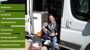 fan4van wasserhygiene im Reisemobil