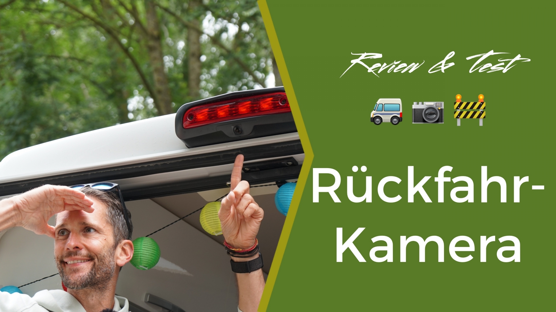 fan4van testet Wohnmobil Rückfahrkameras