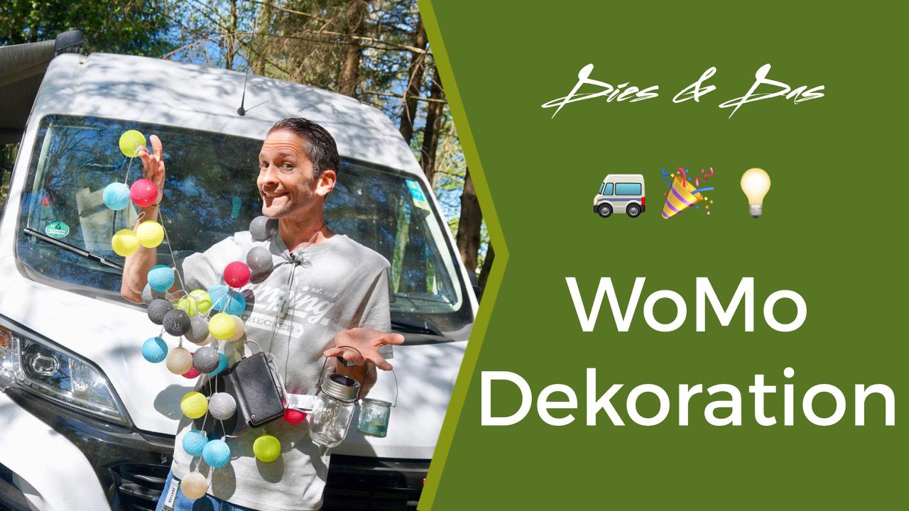 Wohnmobil Dekoration und Ideen - Lichterketten & Co.