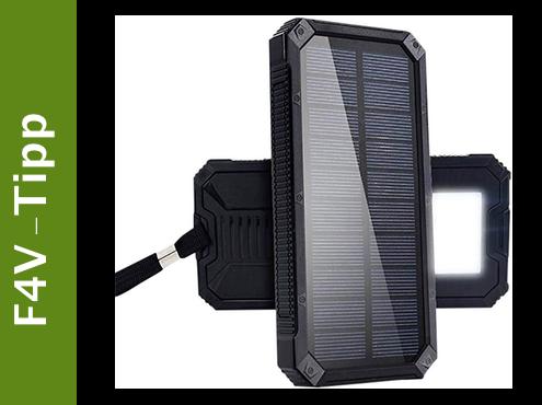 fan4van - solar powerbank 15000