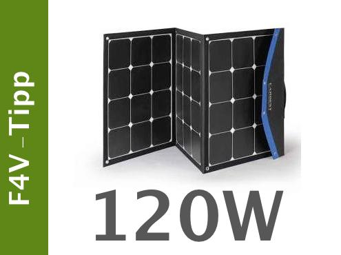 fan4van - solarpanel inkl. regler
