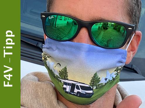 Camper Mund- und Nasenmaske
