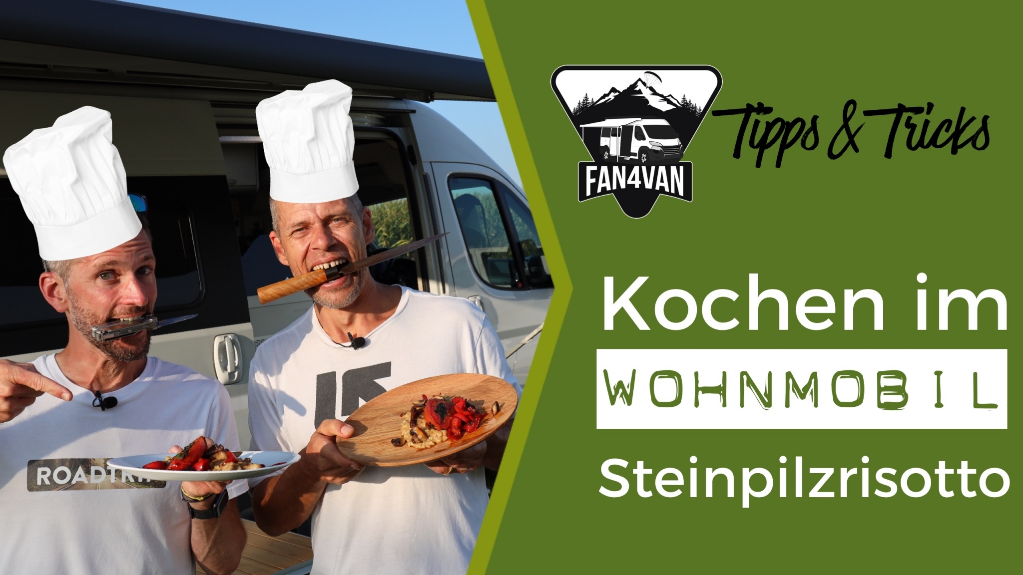 Camping Kochen - FAN4VAN kocht mit Surdham im Wohnmonbil