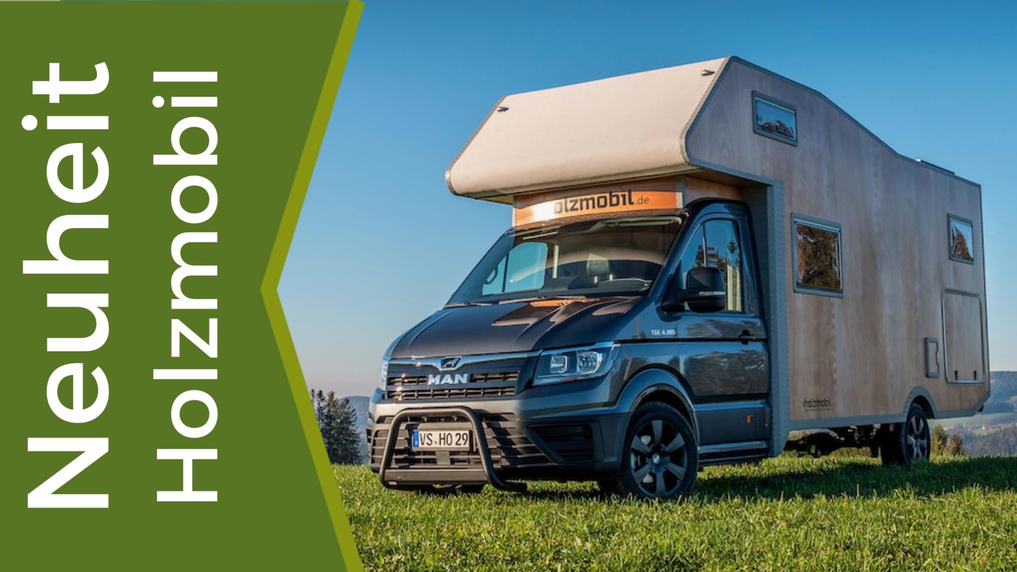 Holzmobil zeigt wirkliche Innovationen auf dem Wohnmobil Markt