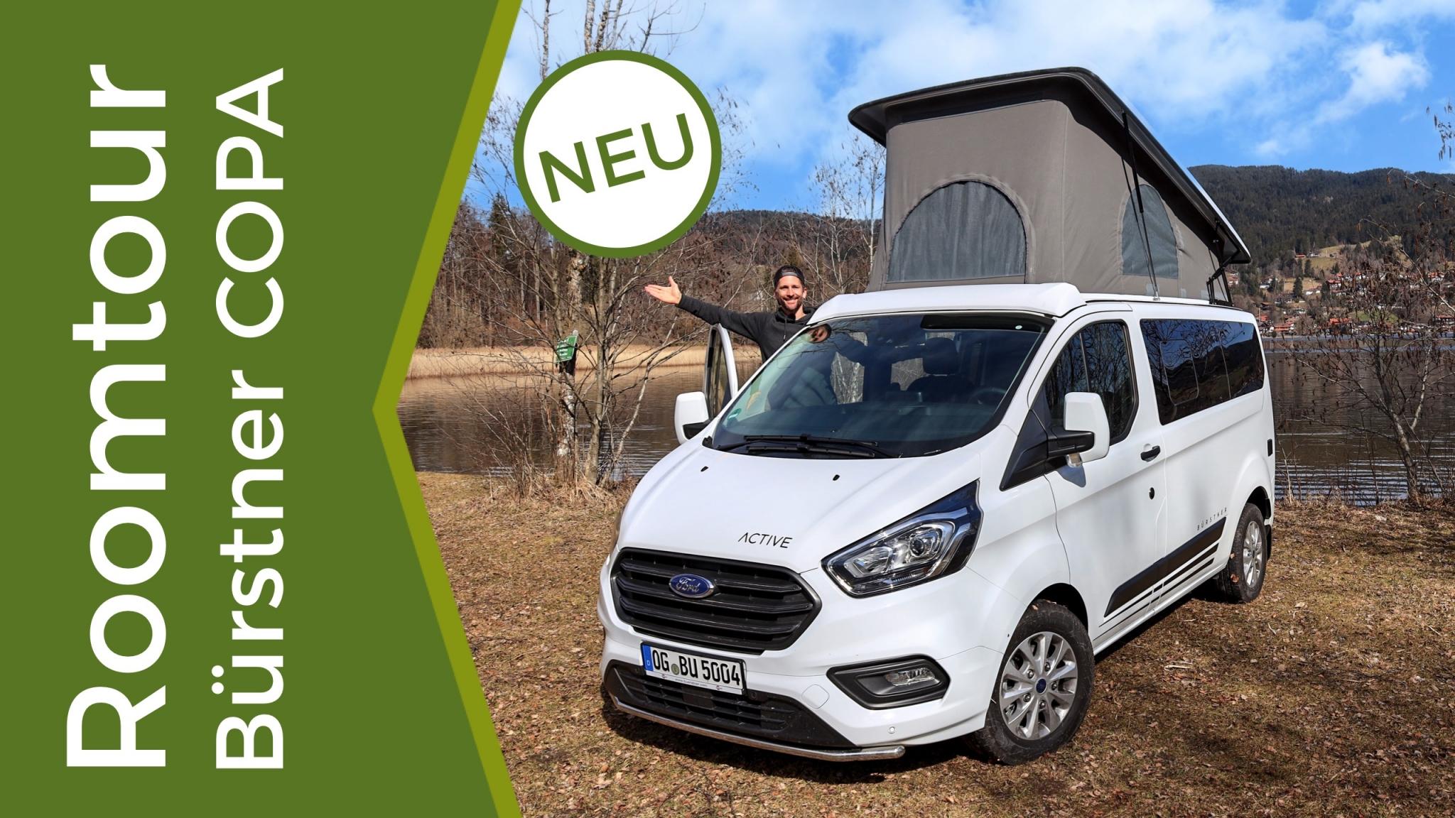 Ein Test des neuen Copa von Bürstner - ein neuer Campingbus