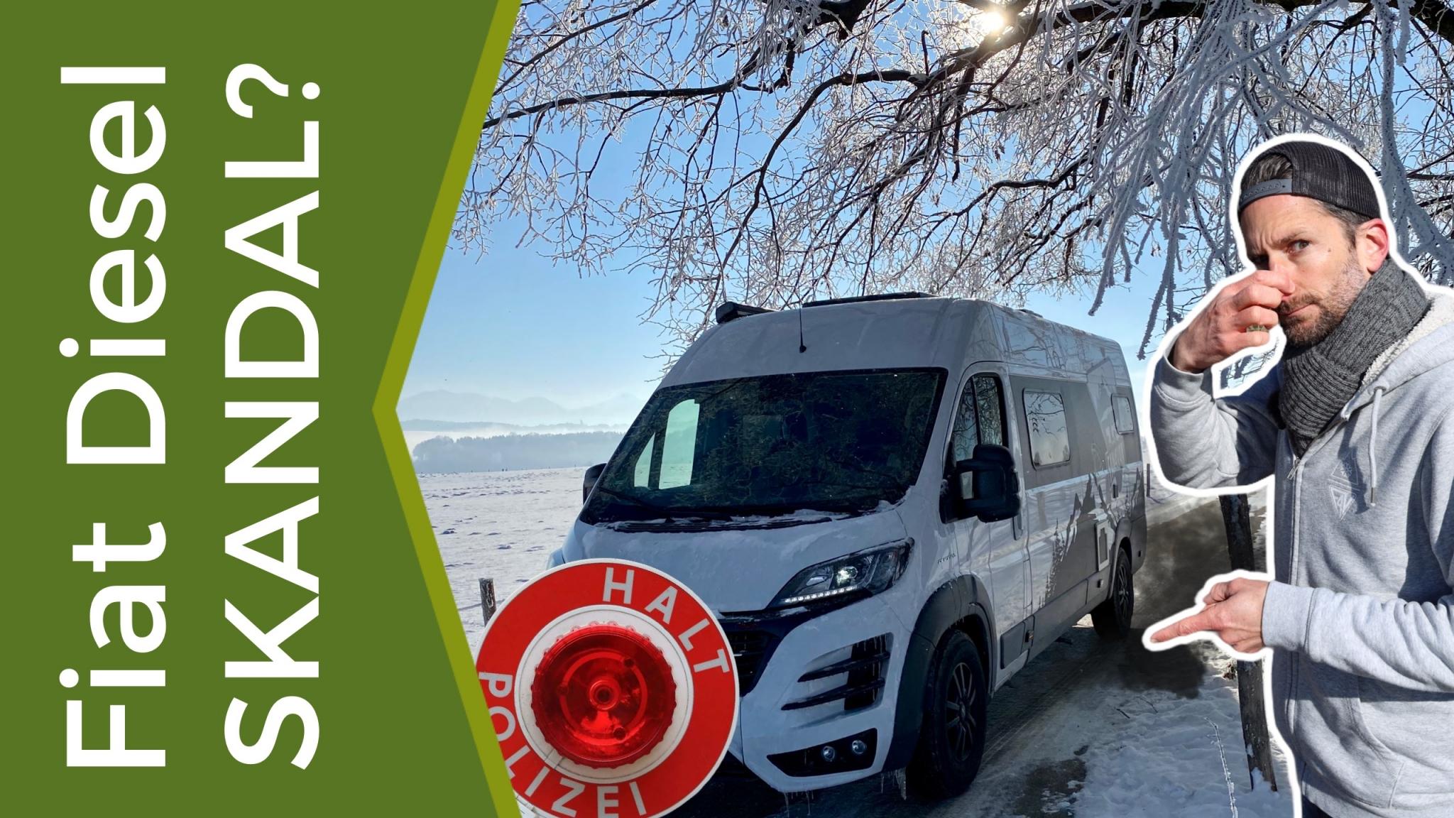 Fiat Dieselskandal - ist mein Wohnmobil betroffen, wird es stillgelegt?